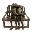 Лягушка металл арт,12144-10