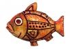 """Панно """"Рыба"""" I 00-37C"""